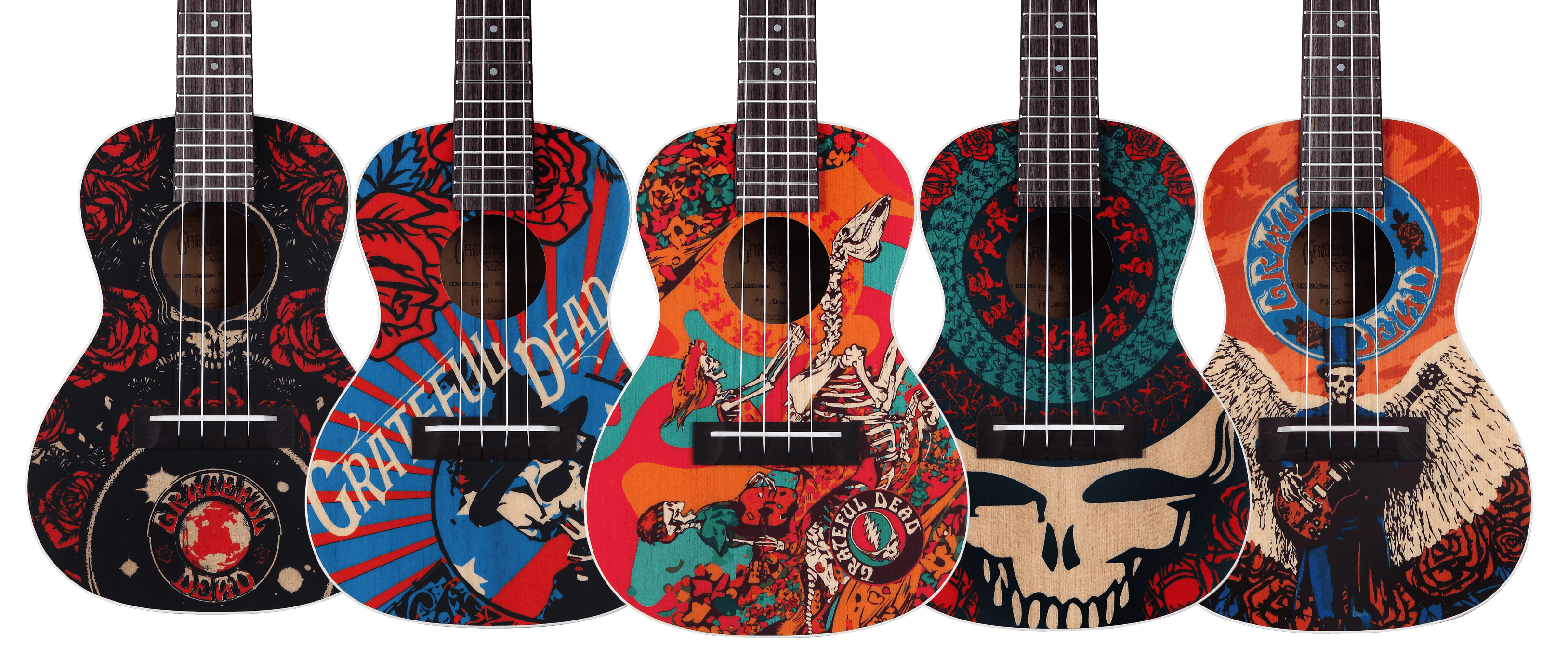Image result for grateful dead ukulele